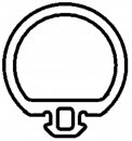 Preis pro Meter , Schüco WI SCHLAUCHDICHTUNG  CMC50 Nr. 224562