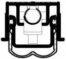 Schüco Automatische Türdichtung 1270mm Nr. 266791  ab 2012