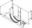 Schüco System/Profil Royal S 18N Laufwagen 90kg B=28 mm Rolle aD=22mm