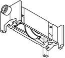 Schüco System ASS 39 Laufwagen 80kg verstellbar Rolle aD=20,5mm